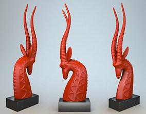Sculpture Antelope P 3D print model