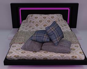Futuristic Bed 3D model