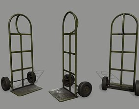 counter 3D model realtime Trolley