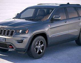 Jeep Grand Cherokee Trailhawk 2018 3D model