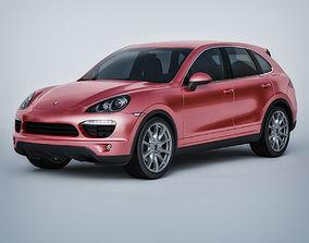 3D Vray Ready Porsche Cayenne Car