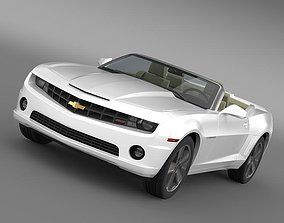 3D model Chevrolet Camaro NeimanMarcus Convertible 2011