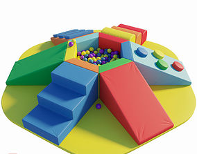 3D model Childrens play area