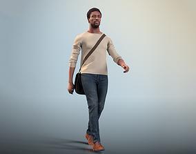 Bruce 20376-11 - Animated Walking Man 3D model