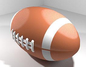 3D model Sport Ball - Rugby