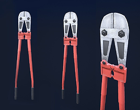 3D model Bolt Cutter 1 Plus 1 PBR Game Ready