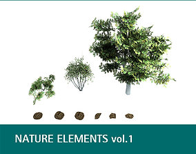 Nature Elements vol 1 3D
