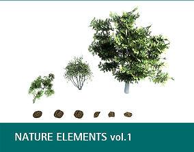 Nature Elements vol 1 3D
