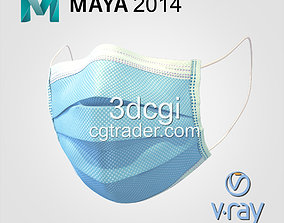 Medical face mask for surgical - 3d hight