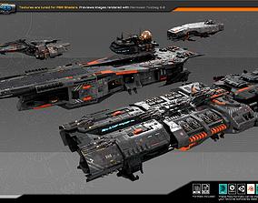 Federation Fleet Pack03 3D model