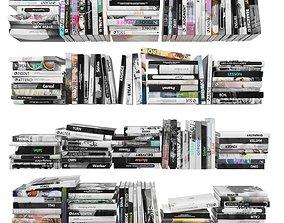 3D model Books 150 pieces 4-4-2