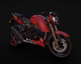 TVS Apache RTR 200 4V 3D