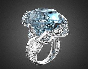 3D print model SIRENA OLA Ring RG0025