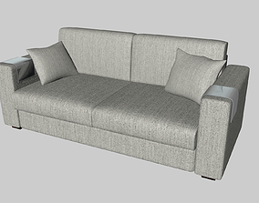 interior 3D model Couch