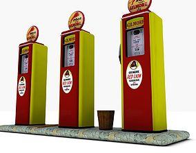 3D model Gas Pump Gilmore