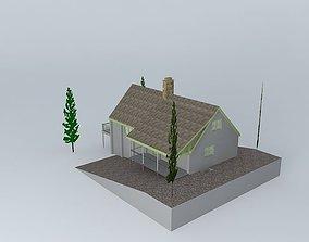 3D model Mountain House 2