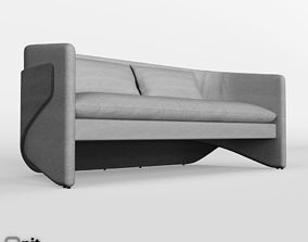 Thea Settee by West Elm 3D