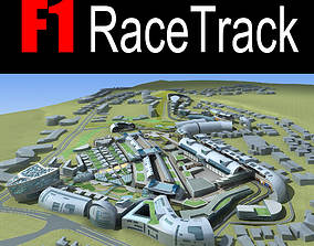F1 RaceTrack 3D model