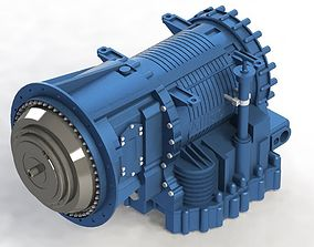 Gearbox Allison 3200 3D model