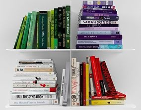 3D model Books collection