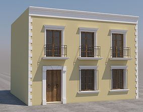 3D model Mexican House