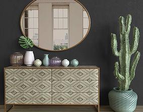3D Modern Interior Decoration Set 03