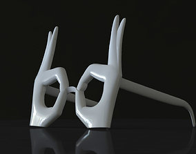 3D print model ok glasses