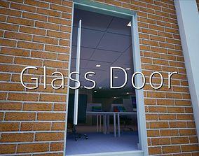 3D asset Glass Door SHC Quick Office LM