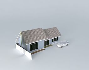 Small resort huouse 3D