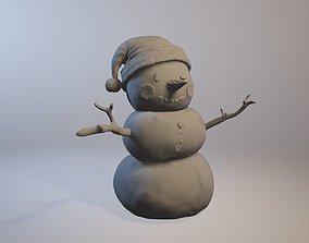 Snowman snowman 3D printable model