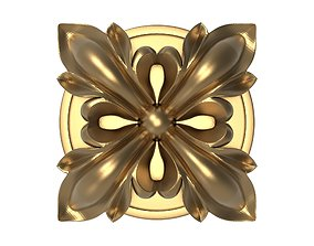 decorative pattern ready for 3D printing luxury jewelry