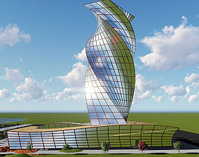 amazing building 3D model
