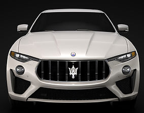 vehicle Maserati Levante GTS 2019 3D