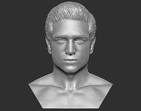 beautiful Handsome man bust 3D printing ready TYPE 1