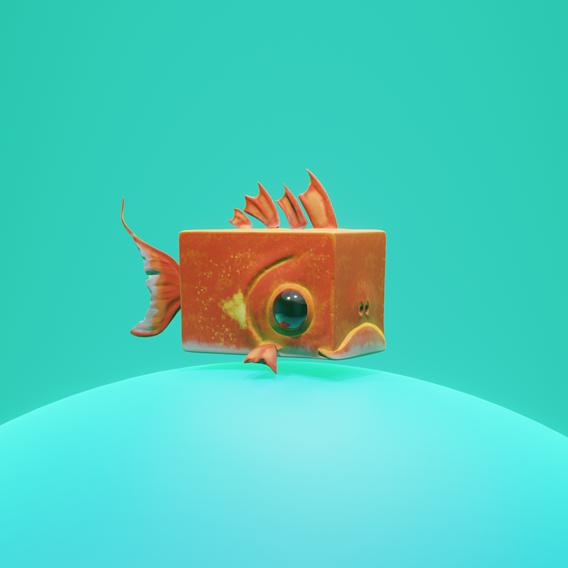 Stylized Goldfish