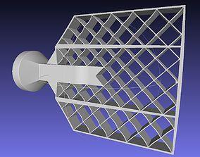 Falcon 9 Gridfin Printable Model