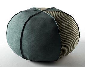 Clove Bean Bag Pouf 3D