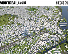 3D model Montreal Canada