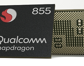 3D Photorealistic Mobile Chip - Snapdragon 855