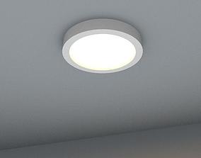 3D asset recessed halogen spotlight suitable for 2