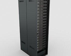 3D model comms Data Server Rack