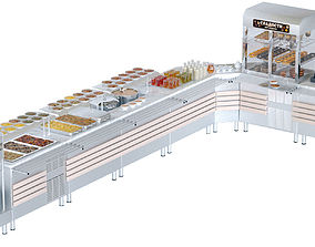 3D model serving line