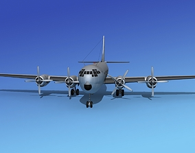 3D Boeing 377A Stratocruiser
