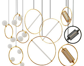 Collection of suspended 5 3D