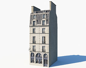 3D model Paris building