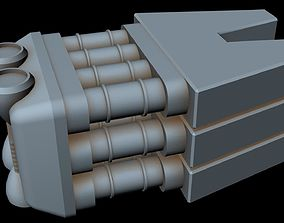 star Starship part 35 3D model