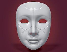 3D asset Robot Mask