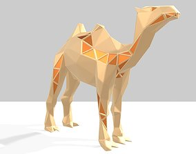 Polygonal Camel Parametric 3D print model