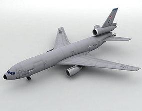 3D asset Douglas KC-10 Military Aircraft