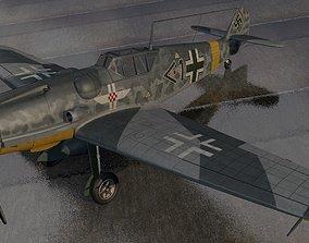 Messerschmitt Bf-109 G-5 Gustav 3D model